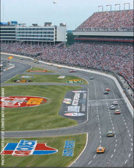 Lake norman and nascar a match made in heaven lake for Race at charlotte motor speedway
