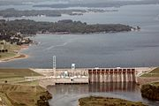 Cowans Ford Dam at Lake Norman