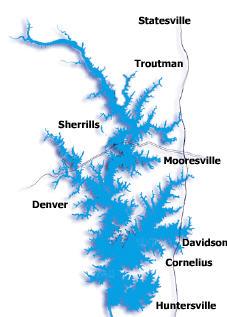 Lake Norman City Map